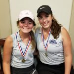 Girls Varsity Golf finishes 2nd place at PAAC Tournament