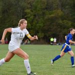 Girls Varsity Soccer beats Brown County 5 – 4