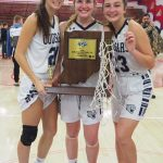 GCA Girls  Mead, Reed, and Frye Earn IBCA All State Honors