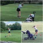 Cougar Girls Golf Improves Scores But Falls Short in Triple Match