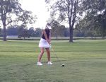 Girls Golf Team Finishes a Close 2nd in 3-Way Match at Indian Creek