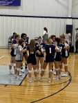 Girls Varsity Volleyball falls to Scecina Memorial 3 – 1