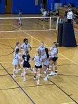 Girls Varsity Volleyball beats Liberty Christian School 2 – 0