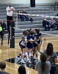 Girls Varsity Volleyball beats Southwestern Jr Sr 3 – 0