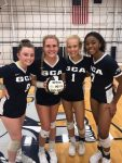 Girls Varsity Volleyball beats Morristown Jr.-Sr. 3 – 0