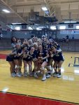 Girls Varsity Volleyball beats Edinburgh 2 – 0