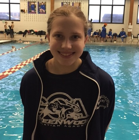Sarah Ziegler Earns Two Firsts at PAAC Conference Swimming