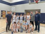 Boys 6th Grade Basketball beats Trader's Point 46 – 27 to WIN IISL Championship!