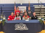Izzy Reed Signs With Indiana Wesleyan Wrapping Up Record-Breaking Career at GCA