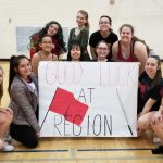 WHS Cheer Surprises ULW Pep Guard