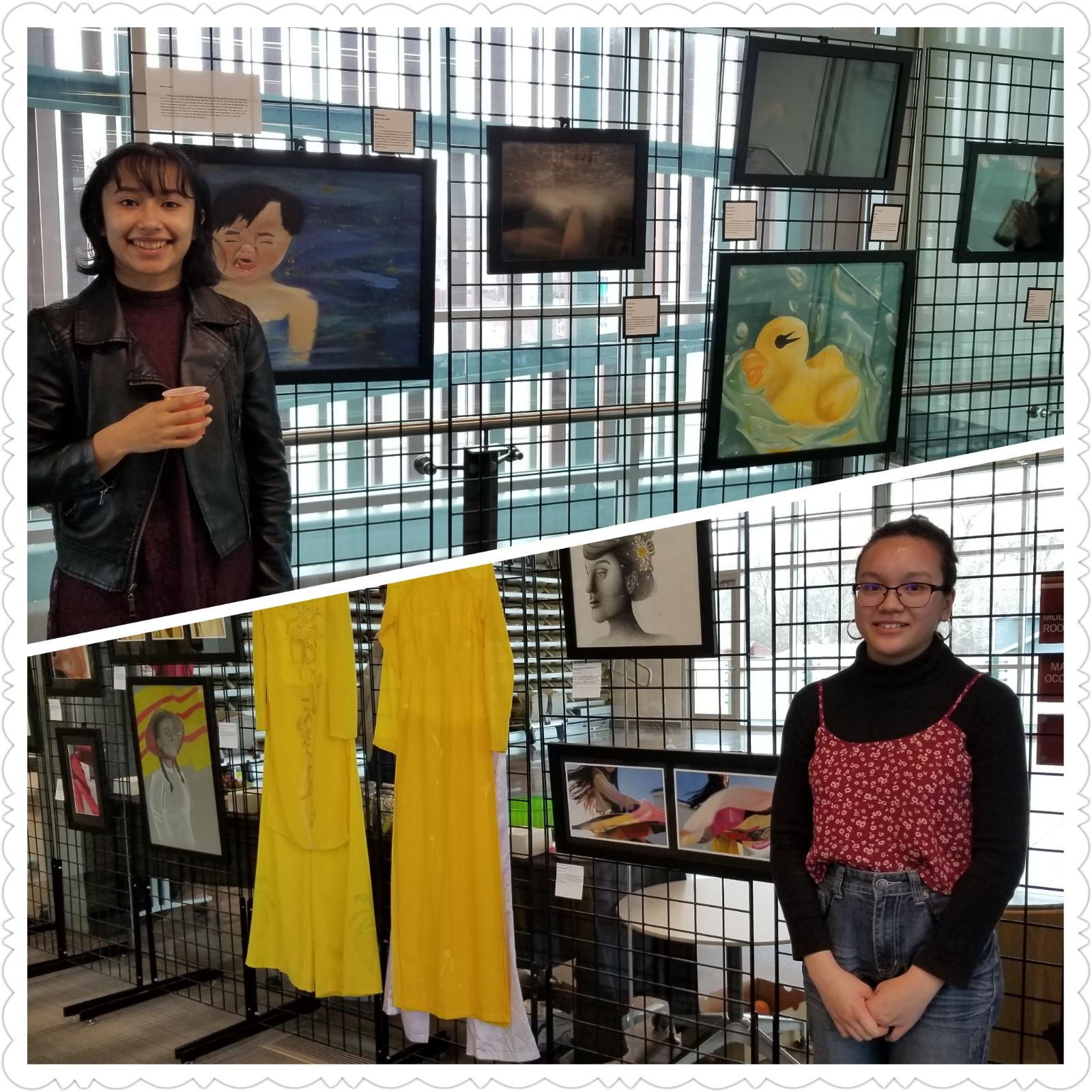 ULW Members Part of IB Art Exhibit