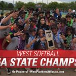 West High Softball wins 5A State Championship