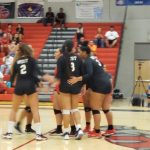 West Volleyball Successful in Win Over Wasatch