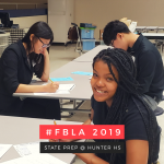 FBLA Travels to Hunter for State Prep Competition