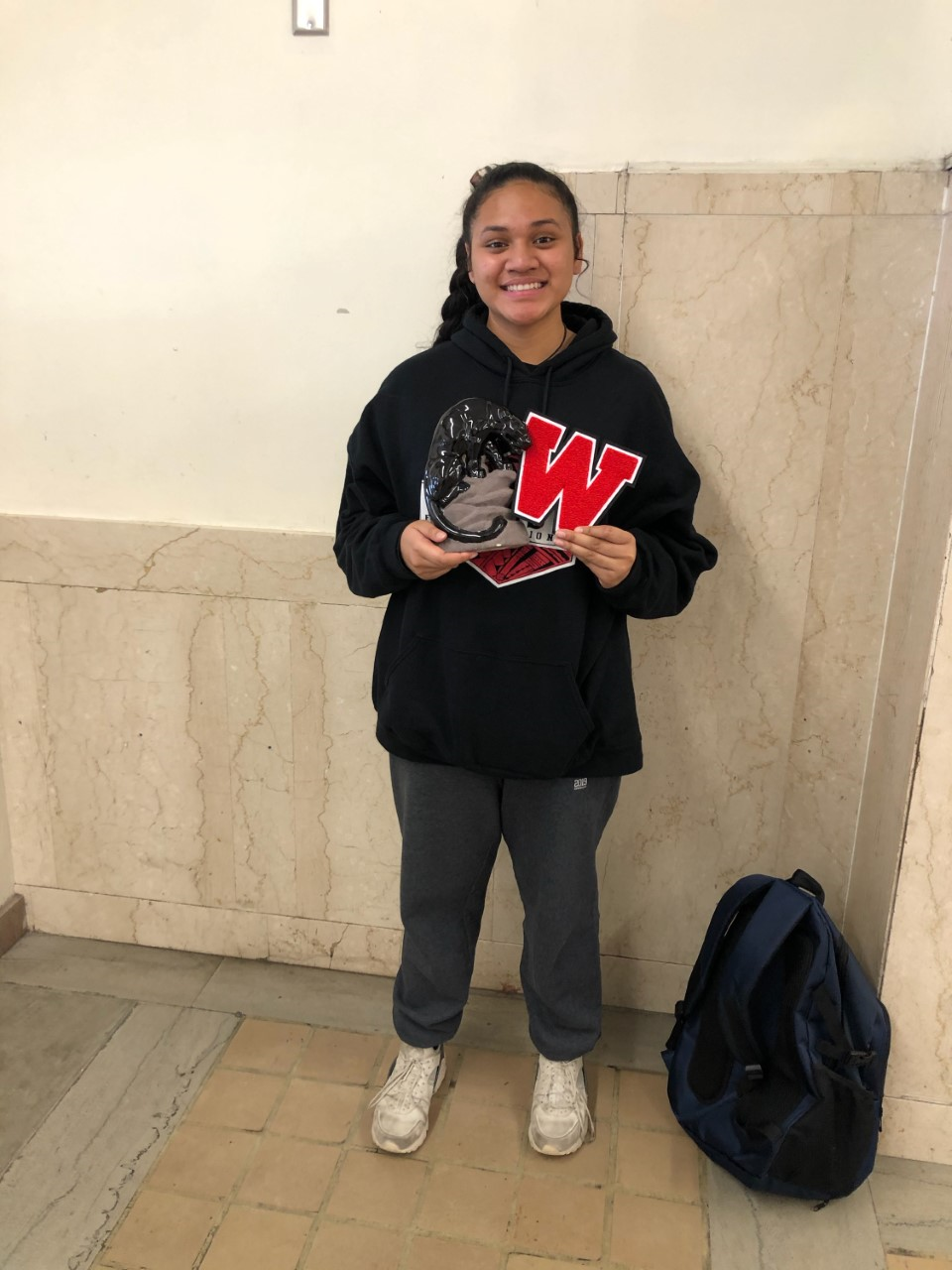 Dana Manu receives Honorable All-State Mention in Volleyball