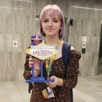 Golden Desert Debate Tournament at UNLV awards 4th Place to Olivia Hoffmann