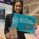 Senior Debater Wins 1st Place at NSDA National Qualifier Tournament