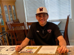 Congratulations to Phoenix Johnson signing with Bellevue University in Nebraska in baseball.