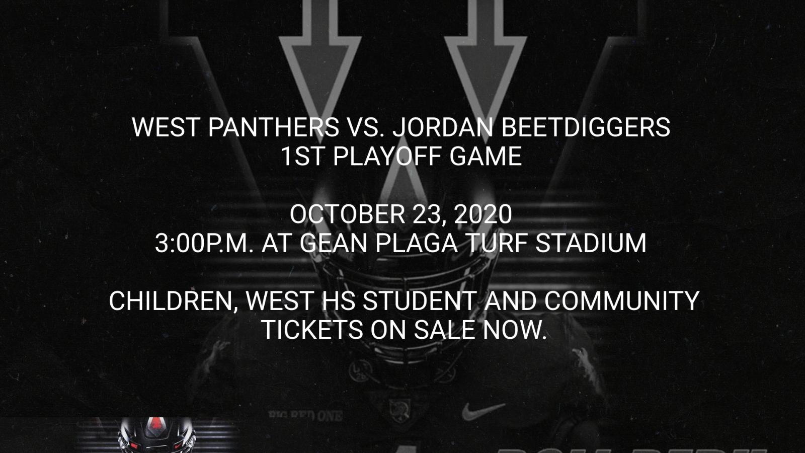 West Panthers vs. Jordan Beetdiggers
