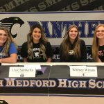 Panther Girls Sign Letter's of Intent