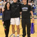 South Medford Basketball Honors Seniors