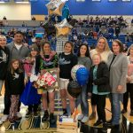 Lady Panther Basketball Senior Night