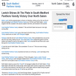 Leetch Shines as SM Softball beats North Salem 13 – 6