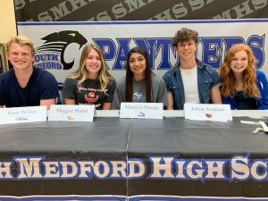 Senior Signing Ceremony – April 25, 2019