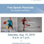 FREE Sports Physicals by Providence Sports Medicine: August 10th