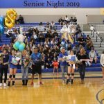 Panther Volleyball Celebrates Seniors