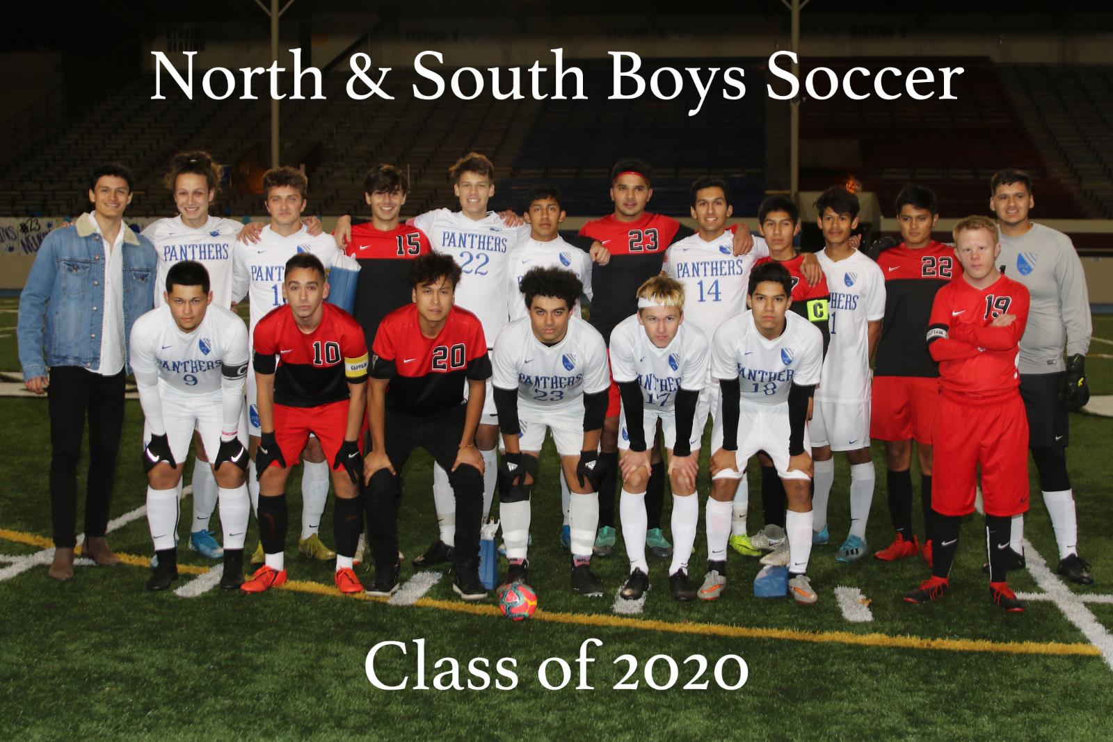 2019 Boys Soccer Senior Night