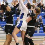 South Medford Girls Basketball vs Tigard OSAA Playoff Round 1