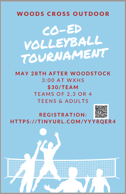 WX Volleyball Co-ed Outdoor Tournament