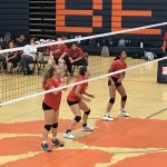 Volleyball falls to Brighton 3 – 0