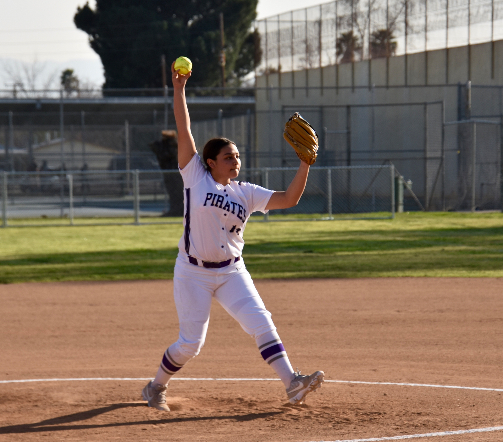 Pirate Softball Opens Season Against Public Safety Academy