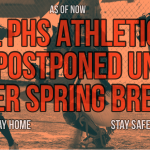 All PHS Athletics and Activities are Postponed