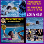 Ashley Kigar is PHS's Junior Scholar Athlete of theYear!