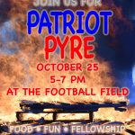 Patriot Pyre Pep Rally