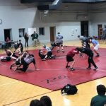 Wrestling Team hosts first home match