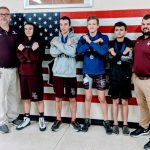 Taylor and Watts place in Freshman Wrestling Tourney