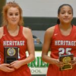 Lady Patriots Earn 9AA District Basketball Awards