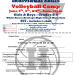 Heritage Volleyball Youth Skills Camp