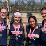 HS Track Medals at West Creek Ribbon Race