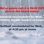 MS Ball: RAIN OUT!
