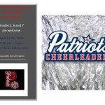 MS Cheer: Tryouts- April 22-25