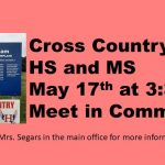 Cross Country Tryout Information