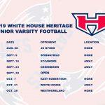 Patriots Football 2019 Junior Varsity Schedule Released