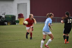 Soccer: Lady Pats vs Station Camp Scrimmage 8/6/19