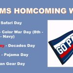 MS Homecoming Dress Up Days