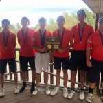 HS Golf: Patriots take home first in district